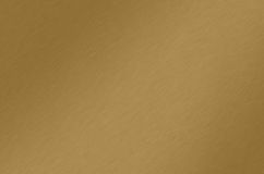 bronze borstad guldtextur Arkivfoto