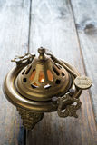 Bronze brazier Stock Photos