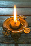 Bronze brazier Stock Photography