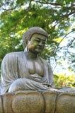 bronze buddha Arkivbild