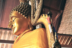 bronze buddha Royaltyfria Foton