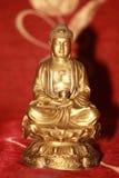 bronze buddha Fotografering för Bildbyråer
