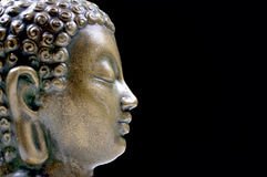Bronze Buddha  profile Stock Photos