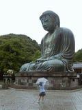 Bronze Buddha statue Royalty Free Stock Photo