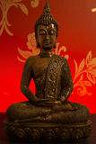 Bronze Buddha Statue Stock Photography