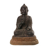 Bronze-Buddha-Statue China-Art Stockfotos