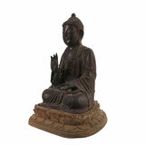 Bronze-Buddha-Statue China-Art Stockfoto