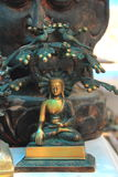Bronze Buddha Statue. Royalty Free Stock Photography