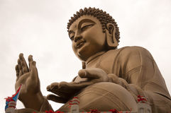 Bronze Buddha statue Royalty Free Stock Photography
