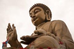Bronze Buddha statue Royalty Free Stock Photography
