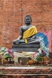 Bronze buddha statue Stock Images
