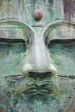 bronze buddha stora kamakura Arkivfoto