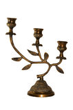 Bronze candlestick Stock Photos