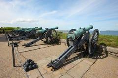 Bronze cannon Stock Photos