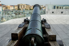 Bronze cannon Royalty Free Stock Photo