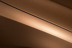 Bronze car bodywork Stock Photo