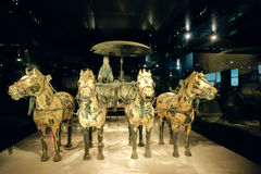 Bronze carriage Royalty Free Stock Images