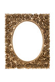 Bronze carved picture frame Royalty Free Stock Photo