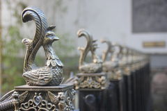 The bronze casting Phoenix Royalty Free Stock Photo
