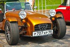 Bronze Caterham Seven Sport Cars Stock Photo