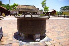 Bronze cauldron Royalty Free Stock Photo