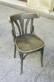 Bronze chair Stock Photography
