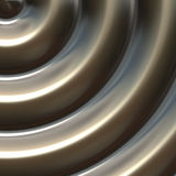 Bronze circle. Bronze metal sculpture in circular shape for use as background art Stock Photography