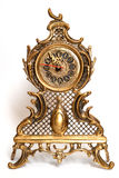 Bronze clocks old-fashioned Royalty Free Stock Image