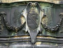 Bronze Coat of Arms, Building Exterior, Dresden Royalty Free Stock Photography