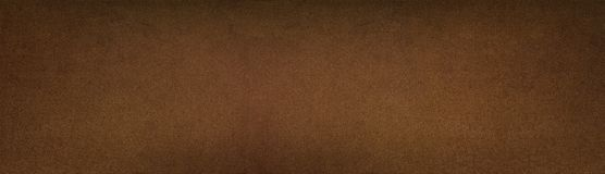 Bronze colored metal texture - wide panoramic vintage background. Bronze color painted metal texture panorama. Aged metallic wide panoramic surface. Retro royalty free stock photography