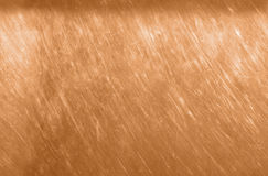 Bronze or copper metal texture background. Scratched bronze brown texture seamless. Stock Image