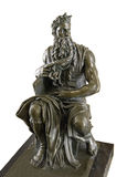Bronze copy sculpture of  Moses by Michelangelo Stock Photo