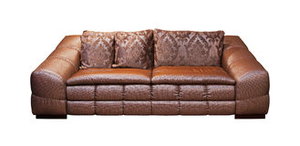 Bronze couch Royalty Free Stock Photo