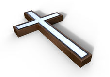 Bronze cross Royalty Free Stock Images