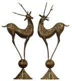 Bronze de cerfs communs photo libre de droits