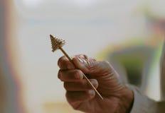 Bronze do pino de cabelo imagens de stock royalty free