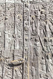 Bronze door, Cathedral Basilica of the Holy Cross, Opole, Poland. OPOLE, POLAND - OCTOBER 07, 2016: Bronze door of salvation history and important events in the stock images