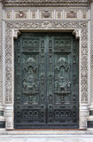 Bronze Door of the cathedral Santa Maria del Fiore Royalty Free Stock Images