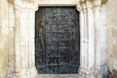 Bronze door Royalty Free Stock Image