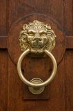 Bronze door knocker Stock Photography