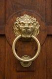Bronze door knocker Stock Photography