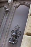 Bronze door knocker Royalty Free Stock Images