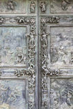 Bronze door, Pisa Cathedral Stock Image