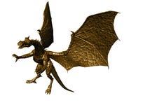Free Bronze Dragon Stock Photography - 3488932