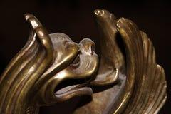 bronze drake Fotografering för Bildbyråer