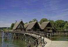 bronze dwelling för ålder royaltyfri fotografi