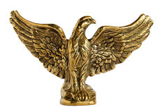 Bronze eagle Stock Photography
