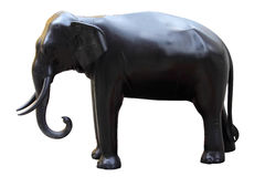 Bronze Elephant Stock Photography