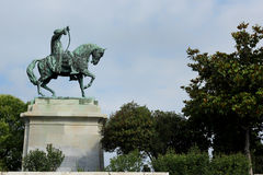 Bronze equestrian statue of Mehmet Ali Royalty Free Stock Image