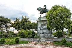 Bronze equestrian statue of Mehmet Ali Royalty Free Stock Photo